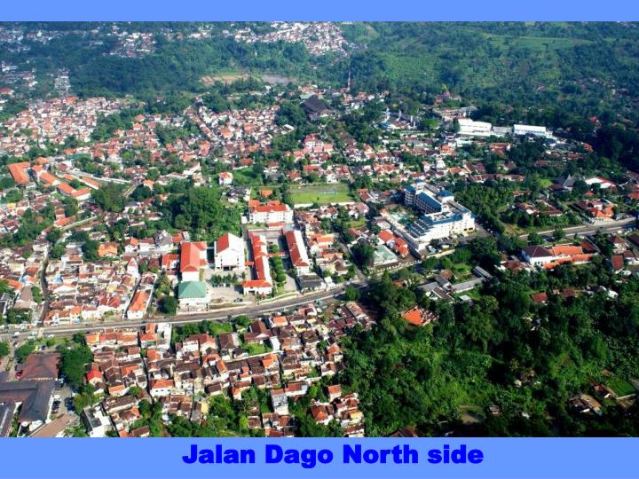 Jalan Dago North side