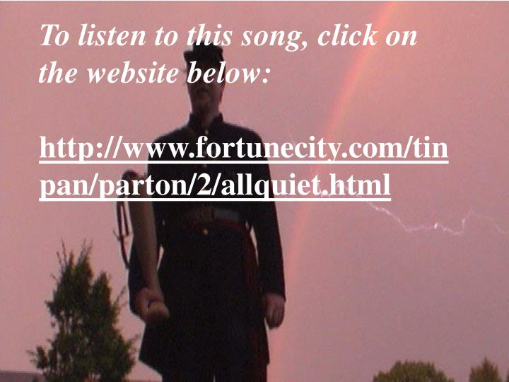 To listen to this song, click on the website below: