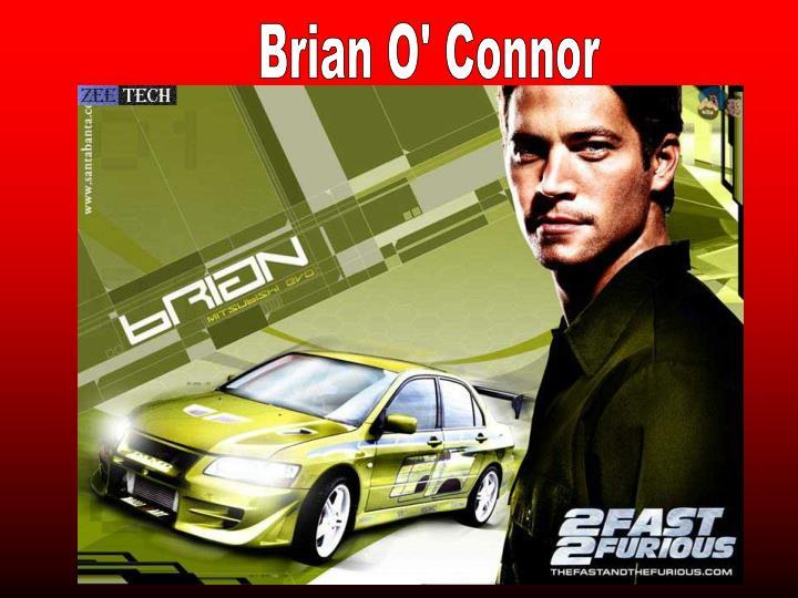 Brian O' Connor