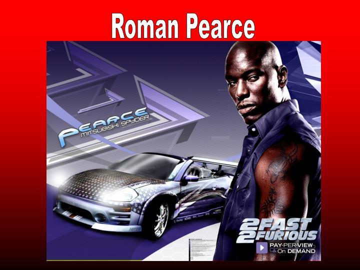 Roman Pearce