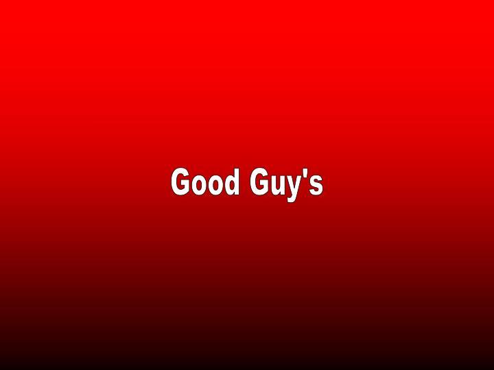 Good Guy's