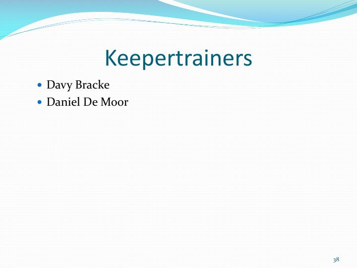 Keepertrainers