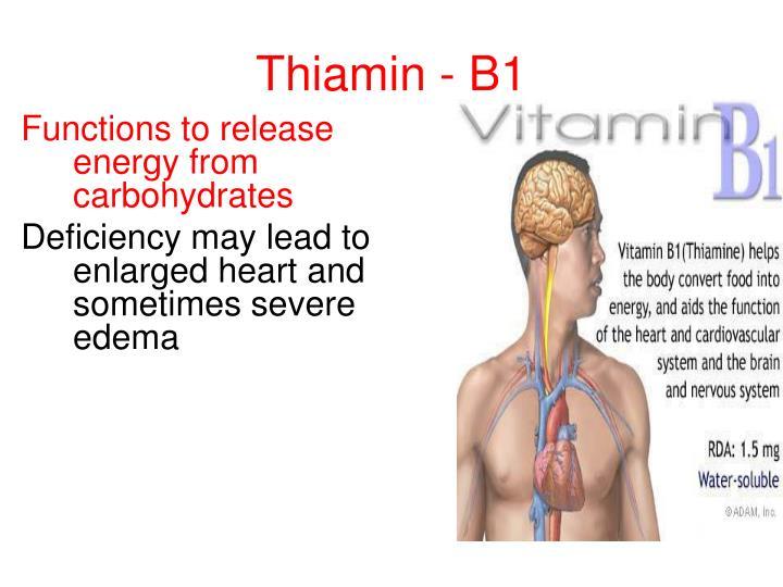 Thiamin - B1