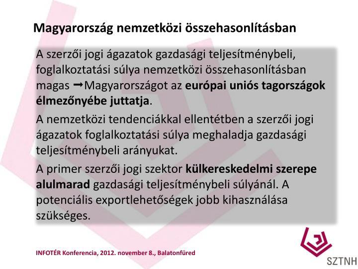 Magyarország nemzetközi összehasonlításban