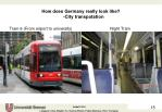how does germany really look like city transpotation