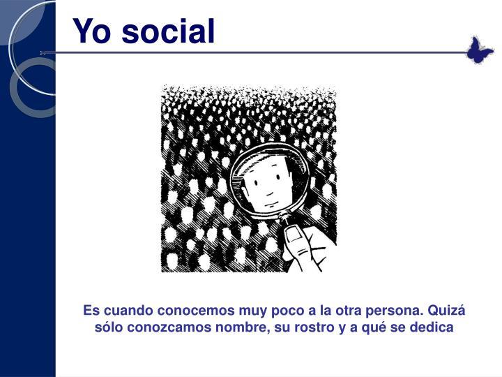 Yo social
