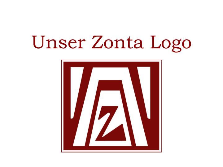 Unser Zonta Logo