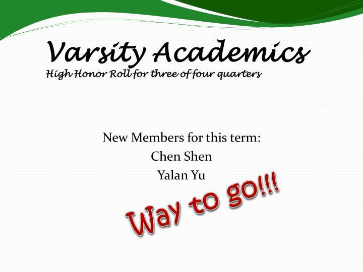 Varsity Academics