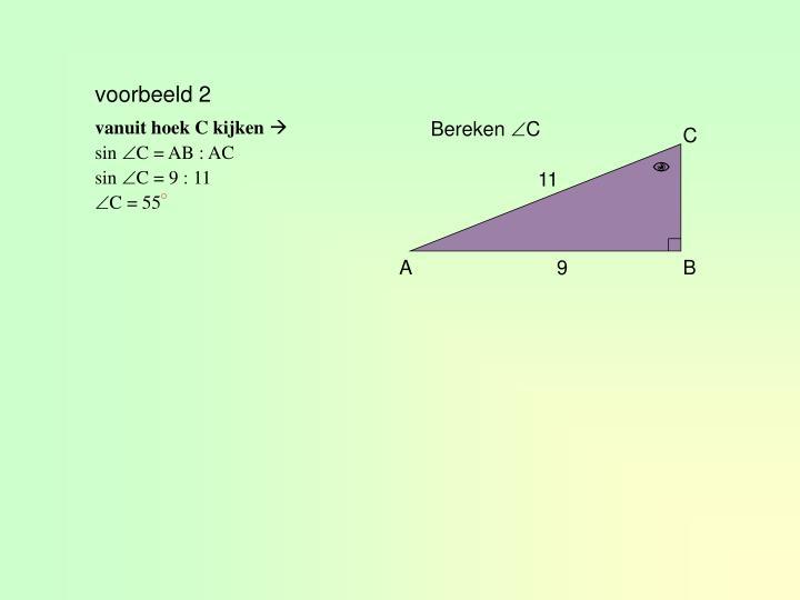 voorbeeld 2