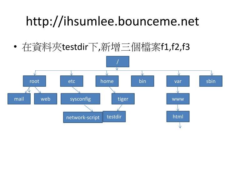 http://ihsumlee.bounceme.net