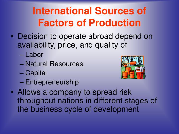 International Sources of