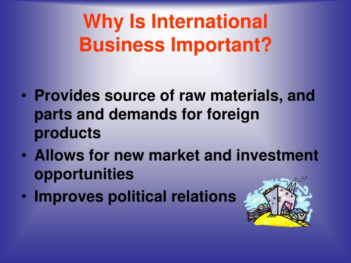 Why is international business important