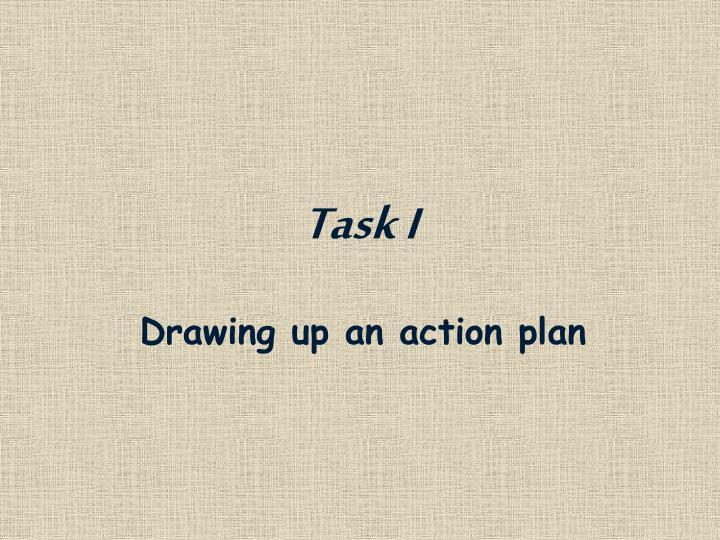 Task I