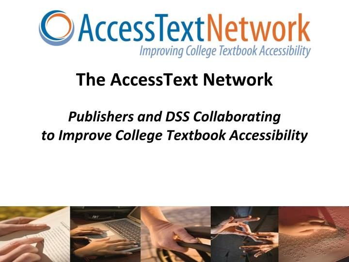 The AccessText Network