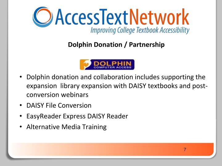 Dolphin Donation