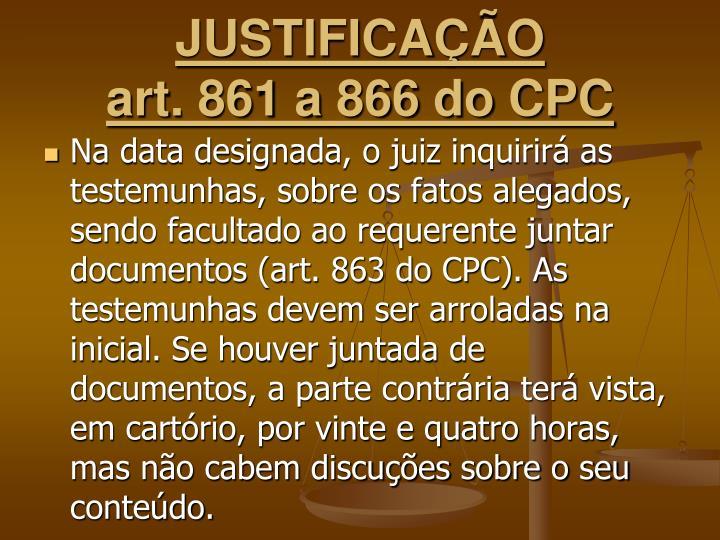 JUSTIFICAÇÃO