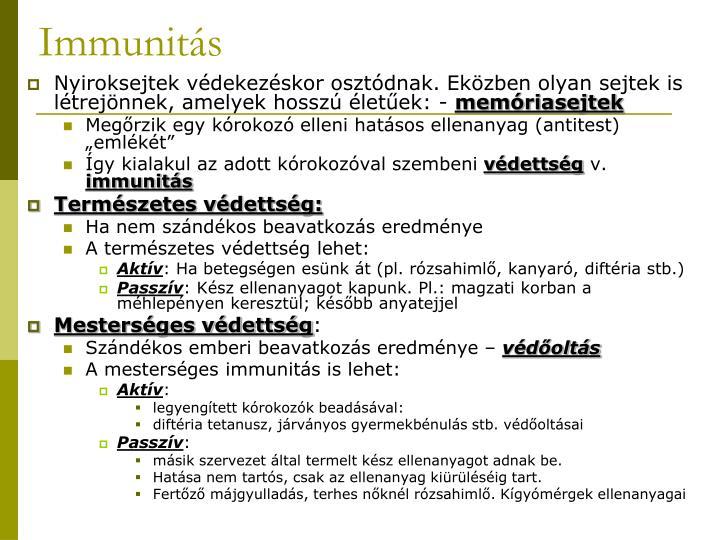 Immunitás