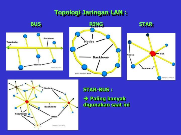 Topologi Jaringan LAN :