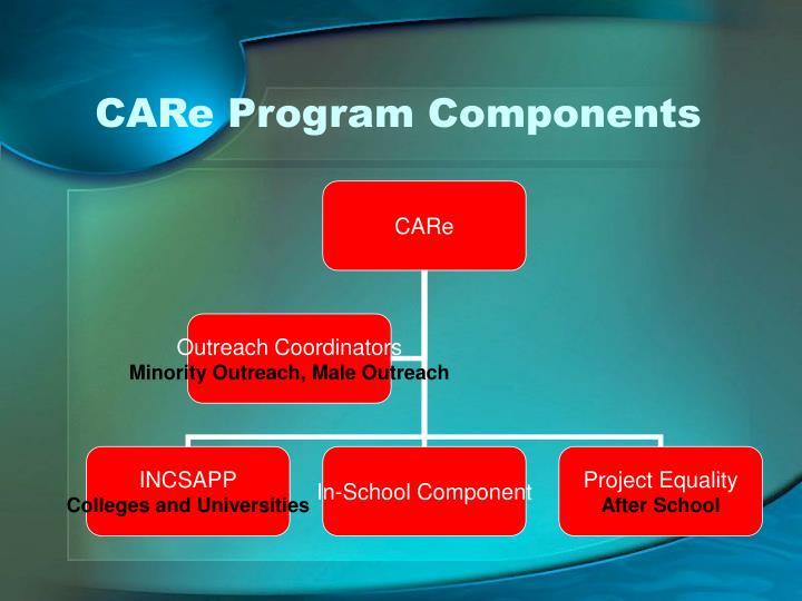 CARe Program Components