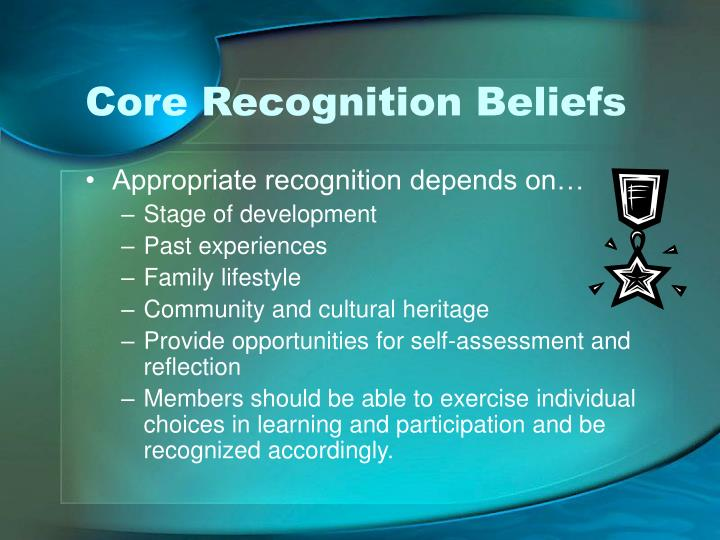 Core Recognition Beliefs