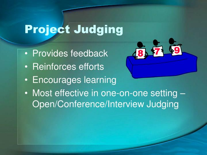 Project Judging