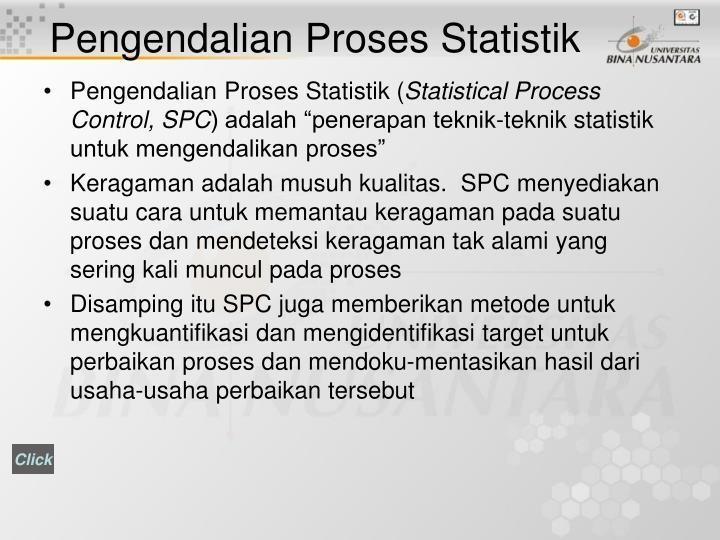Pengendalian Proses Statistik