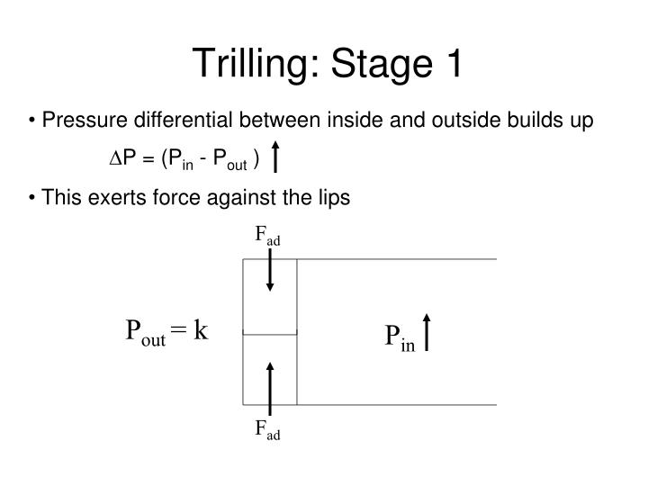 Trilling: Stage 1