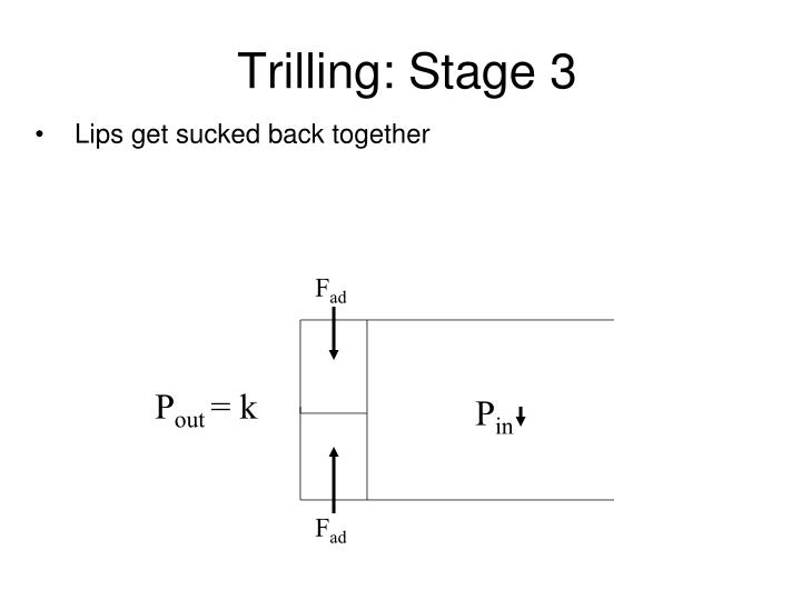 Trilling: Stage 3