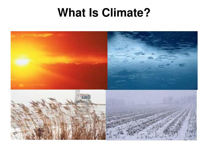 What is climate