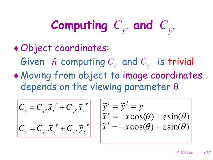 Computing     and