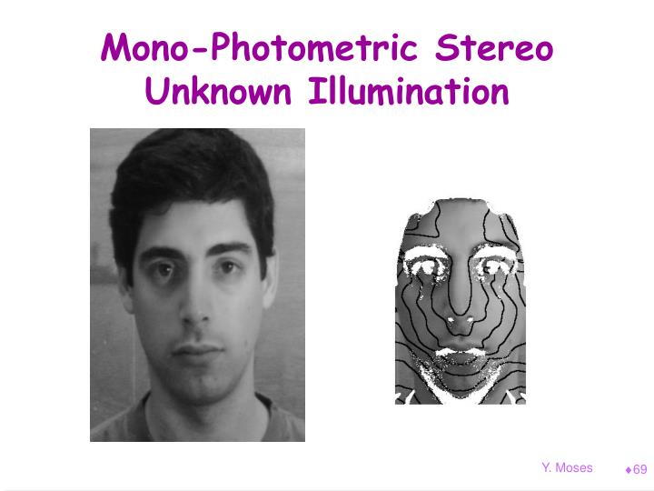 Mono-Photometric Stereo