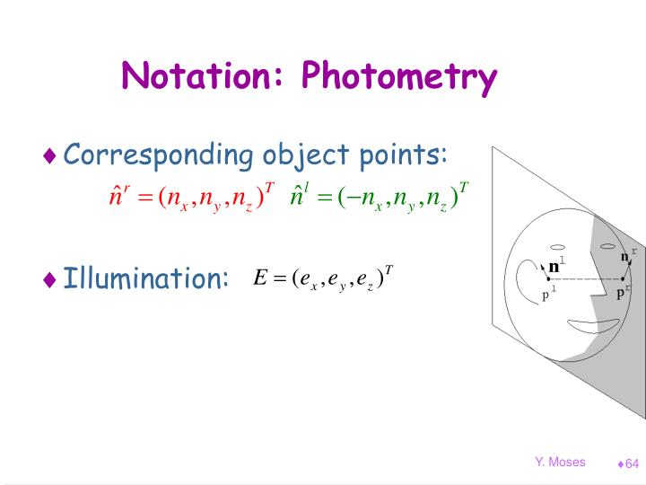 Notation: Photometry