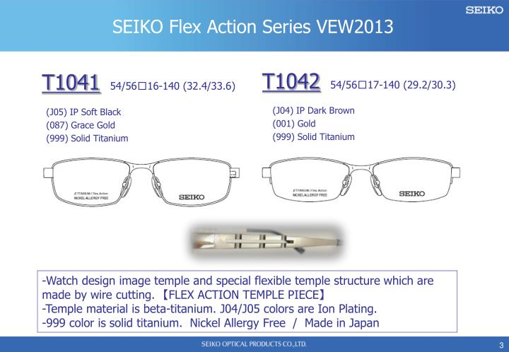 SEIKO Flex Action Series VEW2013