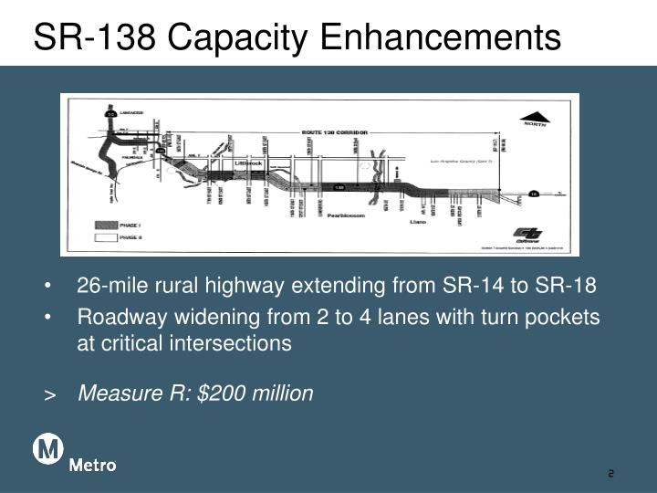 Sr 138 capacity enhancements1