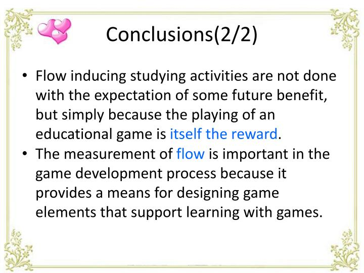 Conclusions(2/2)