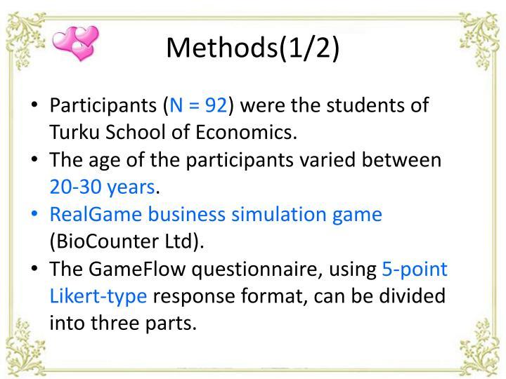 Methods(1/2)