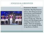 angels grooves