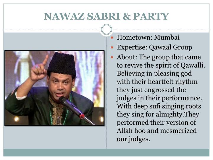 NAWAZ SABRI & PARTY
