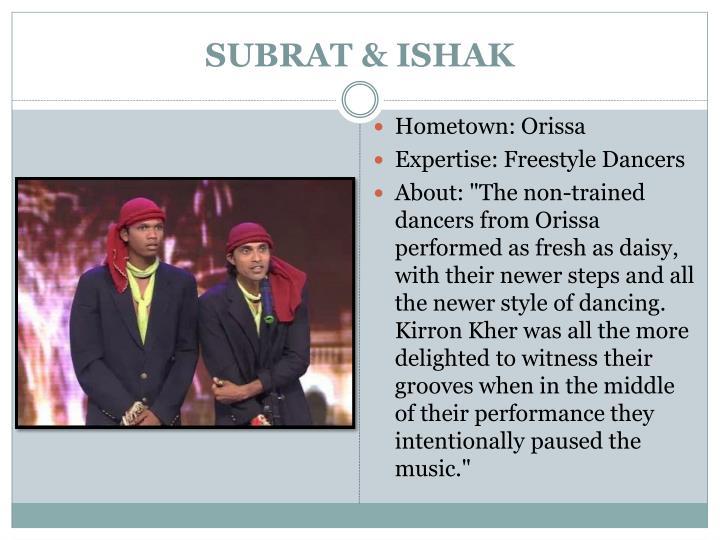 SUBRAT & ISHAK