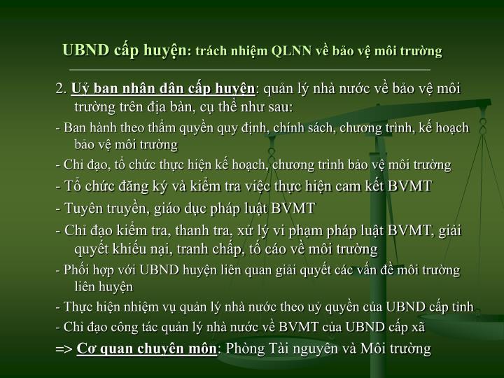 UBND cấp huyện
