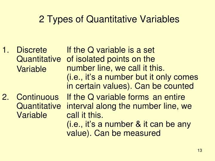 2 Types of Quantitative Variables