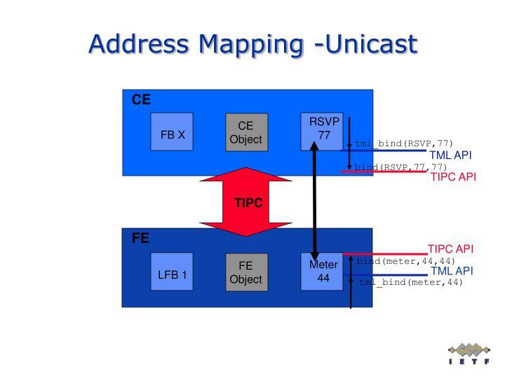 Address Mapping -Unicast