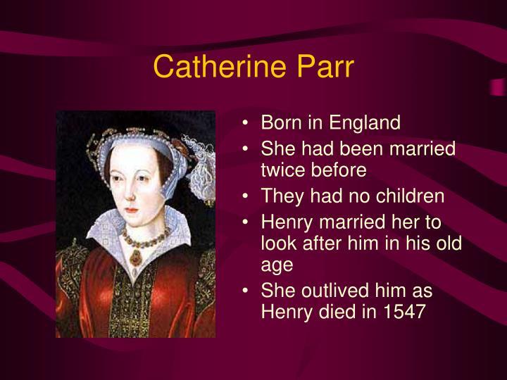 Catherine Parr