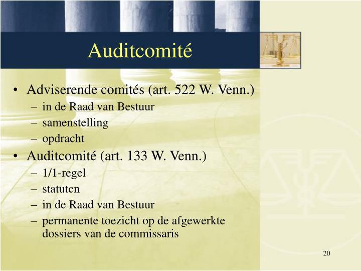 Adviserende comités