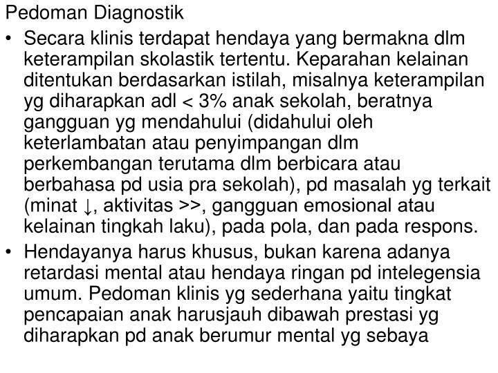 Pedoman Diagnostik