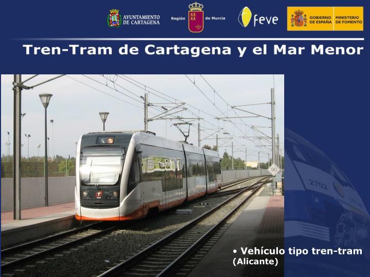 Vehículo tipo tren-tram