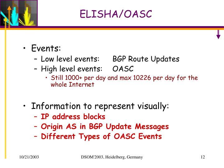ELISHA/OASC