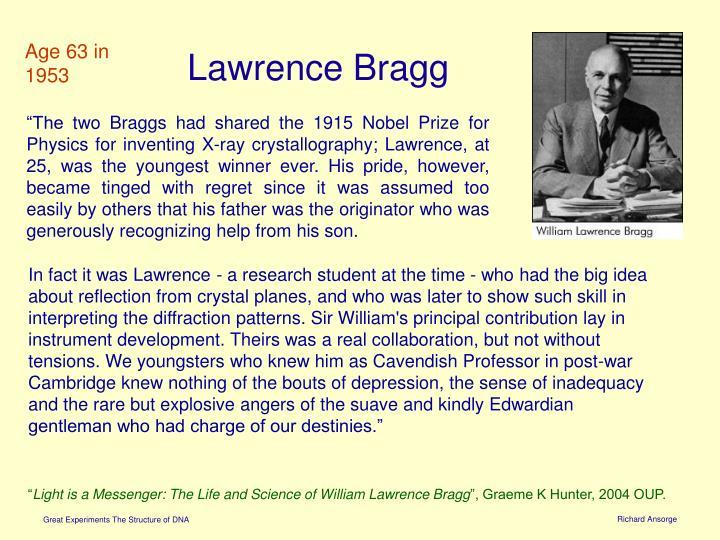 Lawrence Bragg