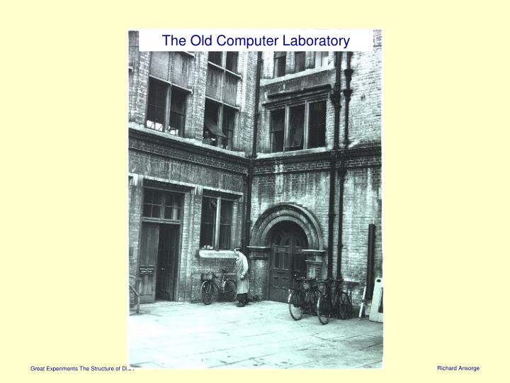 The Old Computer Laboratory