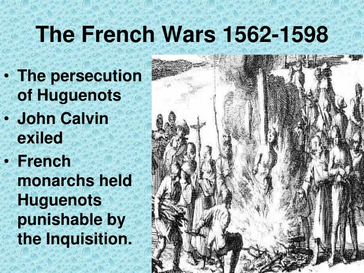 The French Wars 1562-1598
